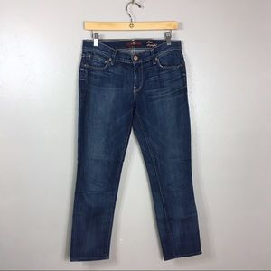 """7 For All Mankind """"Slim Straight"""" Jeans, 28"""